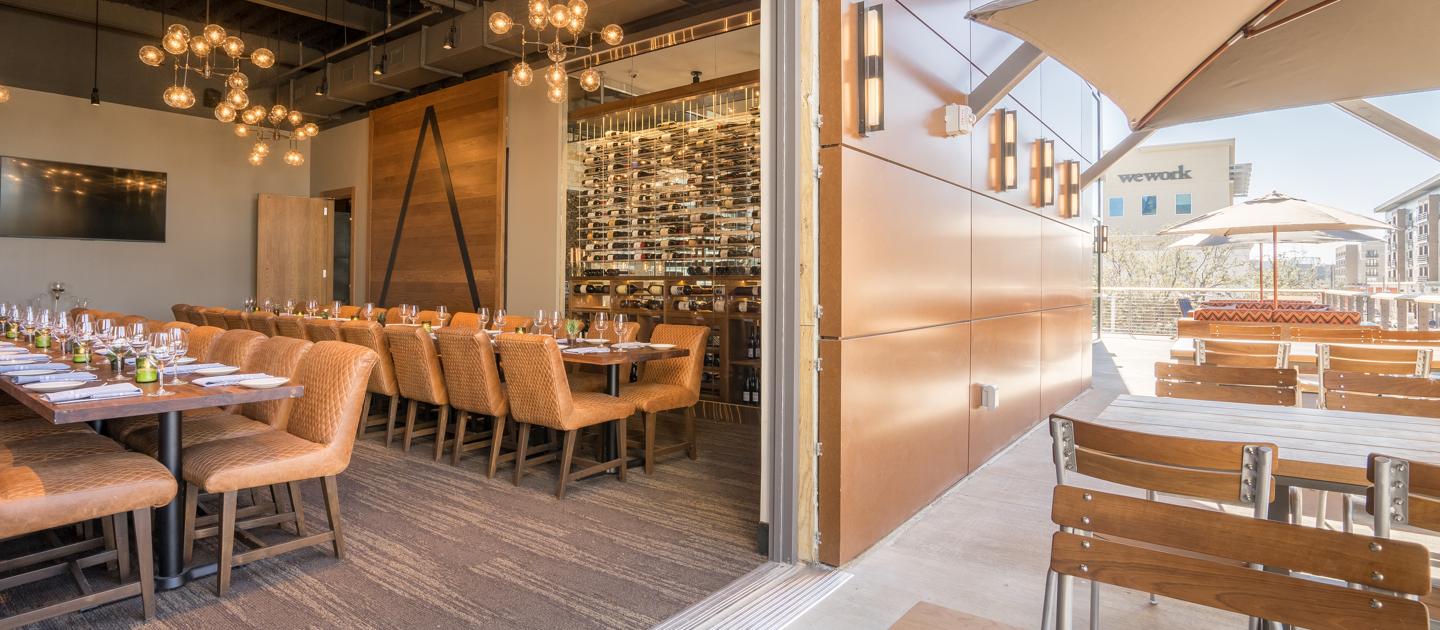 Private Dining Room and Patio